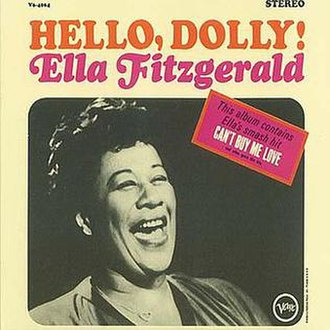 Hello, Dolly! (Ella Fitzgerald album) - Image: Ella Hello,Dolly!