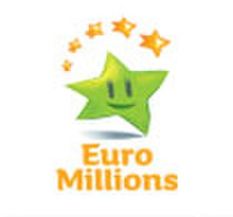 National Lottery (Ireland) - Euromillions logo in use from 2008 onwards.