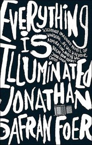 Everything Is Illuminated - Front cover of hardcover edition.