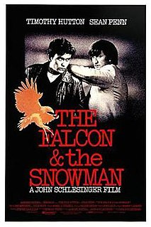 <i>The Falcon and the Snowman</i> 1985 film by John Schlesinger