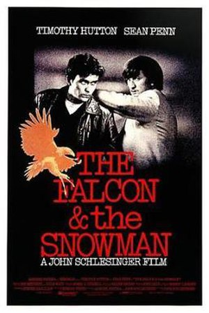 The Falcon and the Snowman - Theatrical release poster
