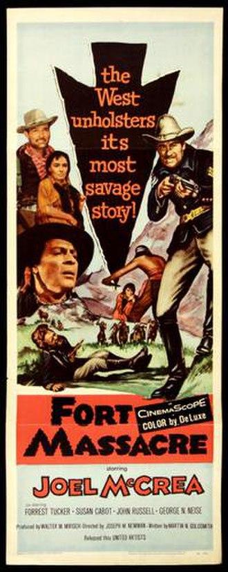 Fort Massacre - Image: Fort Massacre Film Poster