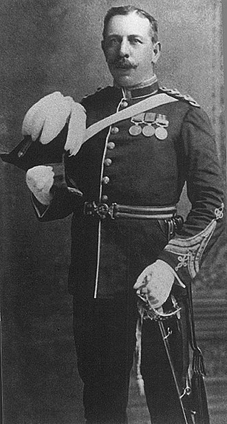 Battle of Rorke's Drift - Sgt Frank Bourne, DCM, in 1905