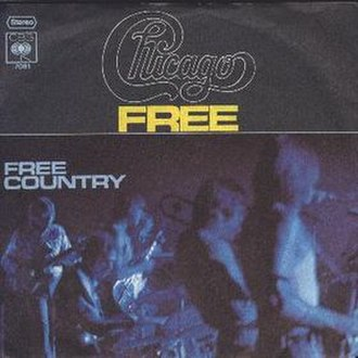 Free (Chicago song) - Image: Free Chicago song cover