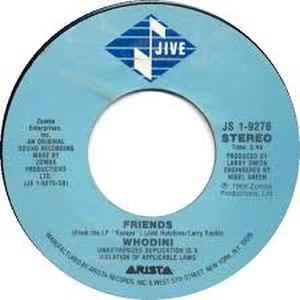 Friends (Whodini song) - Image: Friends Whodini
