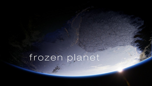 Frozen Planet - BBC series title card