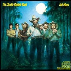 Full Moon (Charlie Daniels album) - Image: Full Moon CDB album