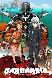 <i>Gargantia on the Verdurous Planet</i> Japanese anime television series and its adaptations