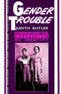 <i>Gender Trouble</i> Book by Judith Butler