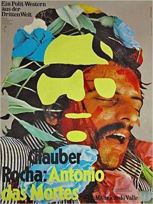 Antonio das Mortes - Image: German poster for 1969 film Antonio Das Mortes