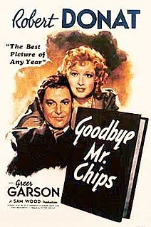 <i>Goodbye, Mr. Chips</i> (1939 film) 1939 film by Sam Wood