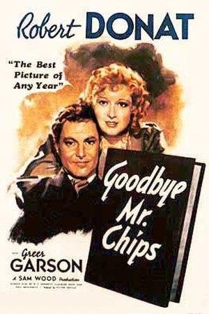 Goodbye, Mr. Chips (1939 film) - Image: Goodbye, Mr. Chips (1939 film) poster