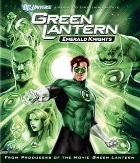 <i>Green Lantern: Emerald Knights</i> 2011 film by Lauren Montgomery
