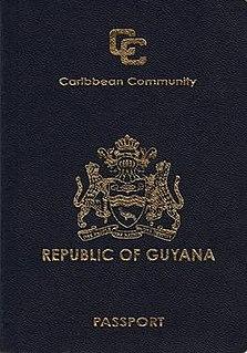Guyanese passport passport