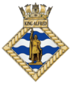 HMS King Alfred badge.png
