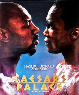 Marvin Hagler vs. Sugar Ray Leonard