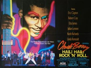 <i>Hail! Hail! Rock n Roll</i> 1987 film by Taylor Hackford
