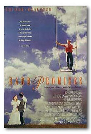 Hard Promises (1992 film) - Theatrical release poster