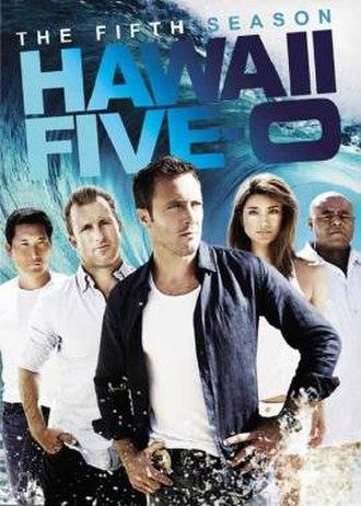 Hawaii Five-0 (2010 TV series, season 5) - Season 5 U.S. DVD cover