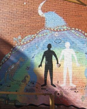 Hillston Central School - Reconciliation Mural