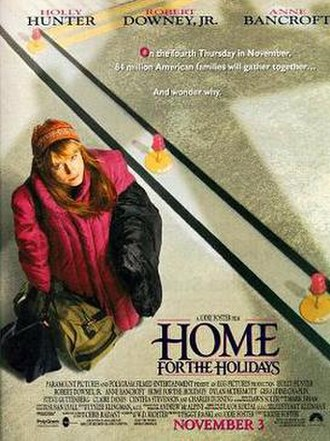 Home for the Holidays (1995 film) - Theatrical release poster