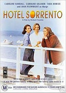 literary analysis of the play hotel sorrento by hannie rayson Based on hannie rayson's award-winning play, hotel sorrento explores the delicate undercurrent of memories and secrets during a long-overdue family re.
