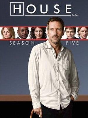 House (season 5) - Image: House MD s 5 US DVD