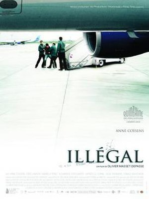 Illegal (2010 film) - Image: Illégal (2010 movie poster)
