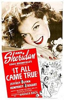 <i>It All Came True</i> 1940 film by Lewis Seiler