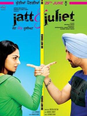 Jatt & Juliet - Theatrical release poster