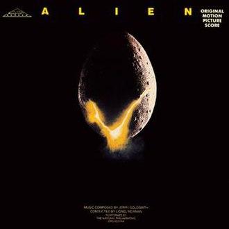 Alien (soundtrack) - Image: Jerry goldsmith alien score 1979