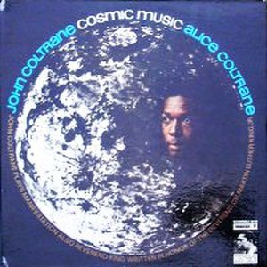 Cosmic Music - Image: John Coltrane Cosmic Music LP Cover