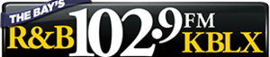 KBLX-FM - Image: KBLX The Bay's Rand B102.9 logo