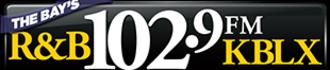 KBLX-FM - Image: KBLX The Bay's Rand B102.9 logo