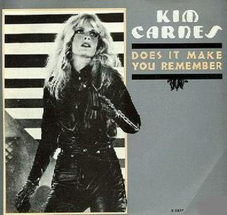 Does It Make You Remember 1982 single by Kim Carnes