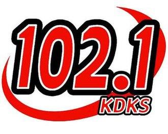 KDKS-FM - Image: KDBS FM logo
