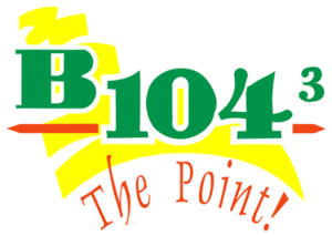 KVGB-FM - Image: KVGB B1043The Point logo