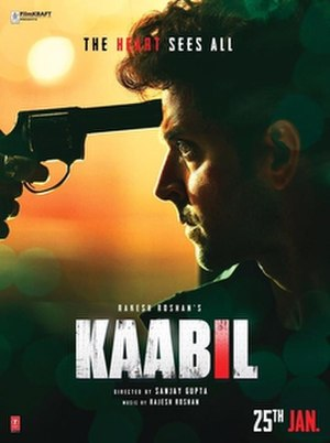 Kaabil - Movie poster