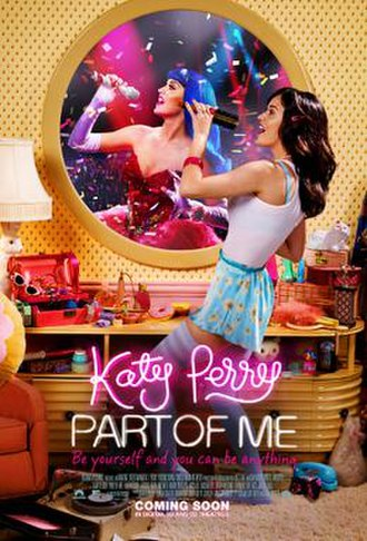 Katy Perry: Part of Me - Theatrical release poster