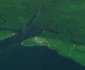 Kerema - Satellite image