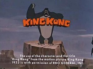 The King Kong Show - Title card for the King Kong segment of the show.