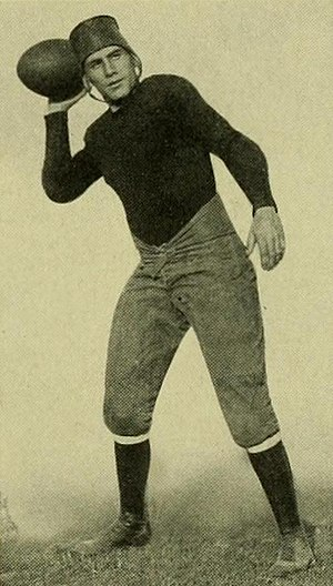 Kirkland Besley - Besley at Maryland in 1924