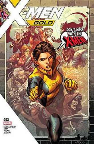 Kitty Pryde - Image: Kitty Pryde X Men gold 3