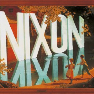 Wayne White (artist) - Nixon by Wayne White