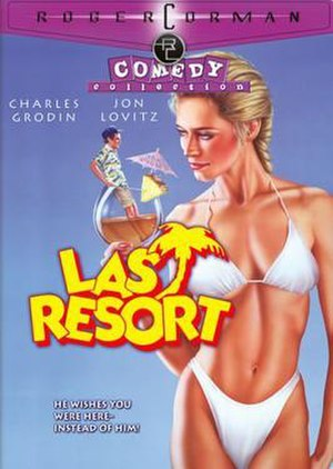 Last Resort (1986 film) - DVD cover