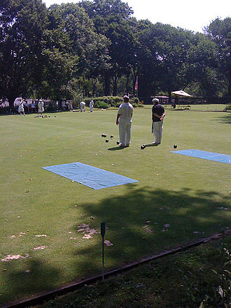 Bowls - Bowling greens in New York City's Central Park