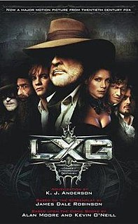 <i>The League of Extraordinary Gentlemen</i> (novel) Book by Kevin J. Anderson