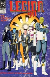 L.E.G.I.O.N. group of fictional characters