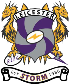 Leicester Storm English amateur rugby league club, based in Leicester, Leicestershire