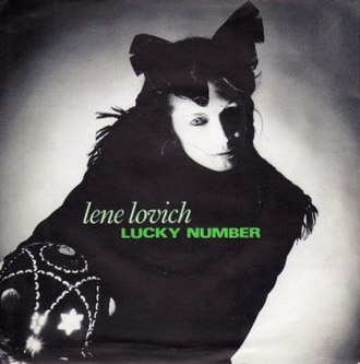 Lucky Number (song) - Image: Lene Lovich Lucky Number 1982